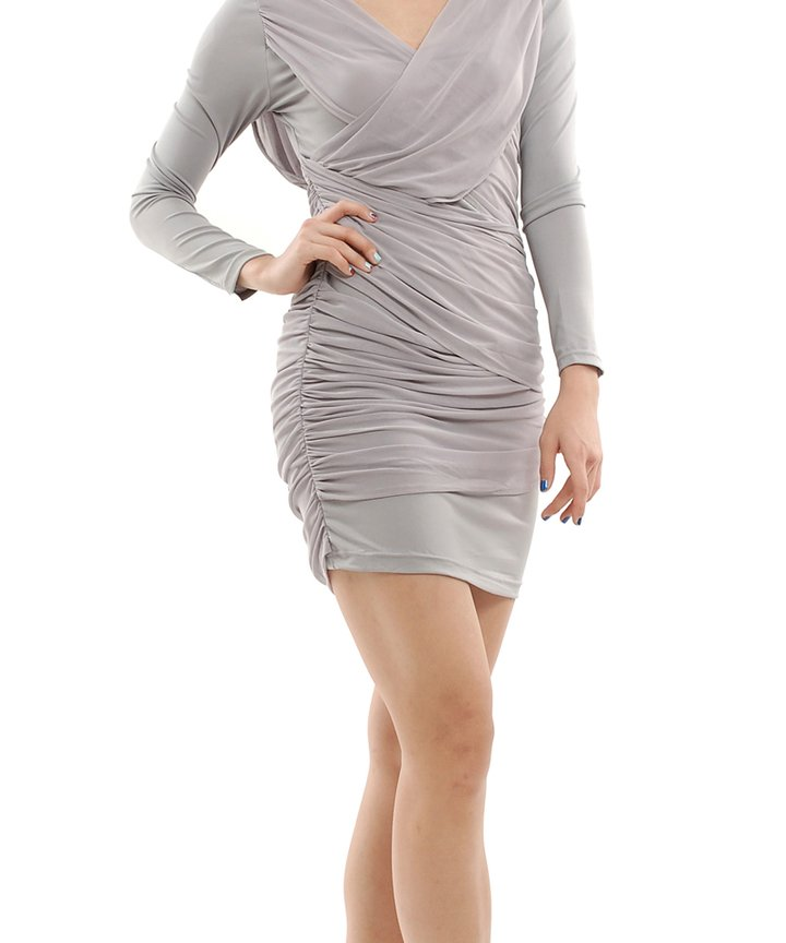 Rio Overlay Wrap Dress