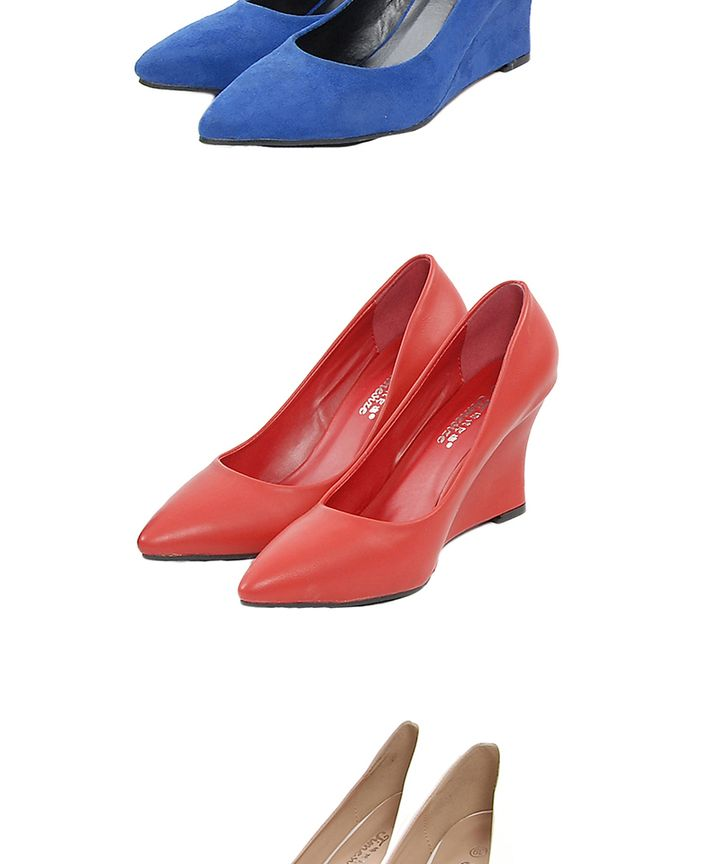 Mccall Wedge Pumps