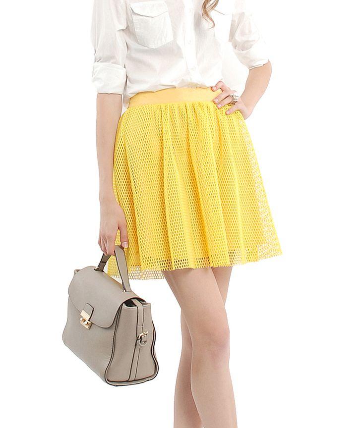 Kirsten Lattice Skirt