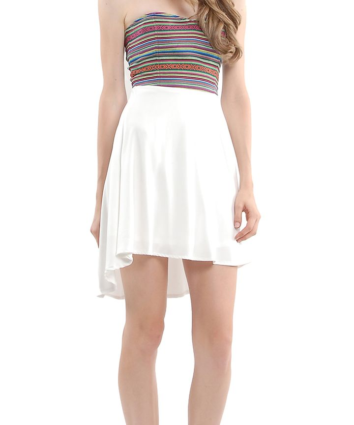 Rue Aztec Bustier Dress