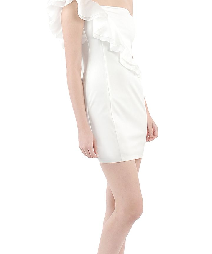 Noelle Romance Toga Mini Dress