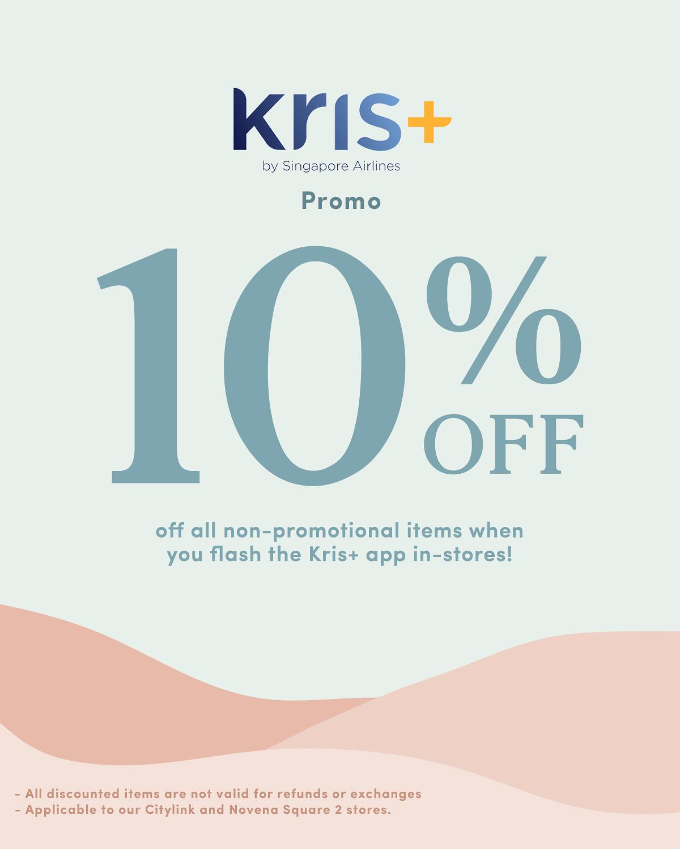 krispay krisflyer hervelvetvase discount code