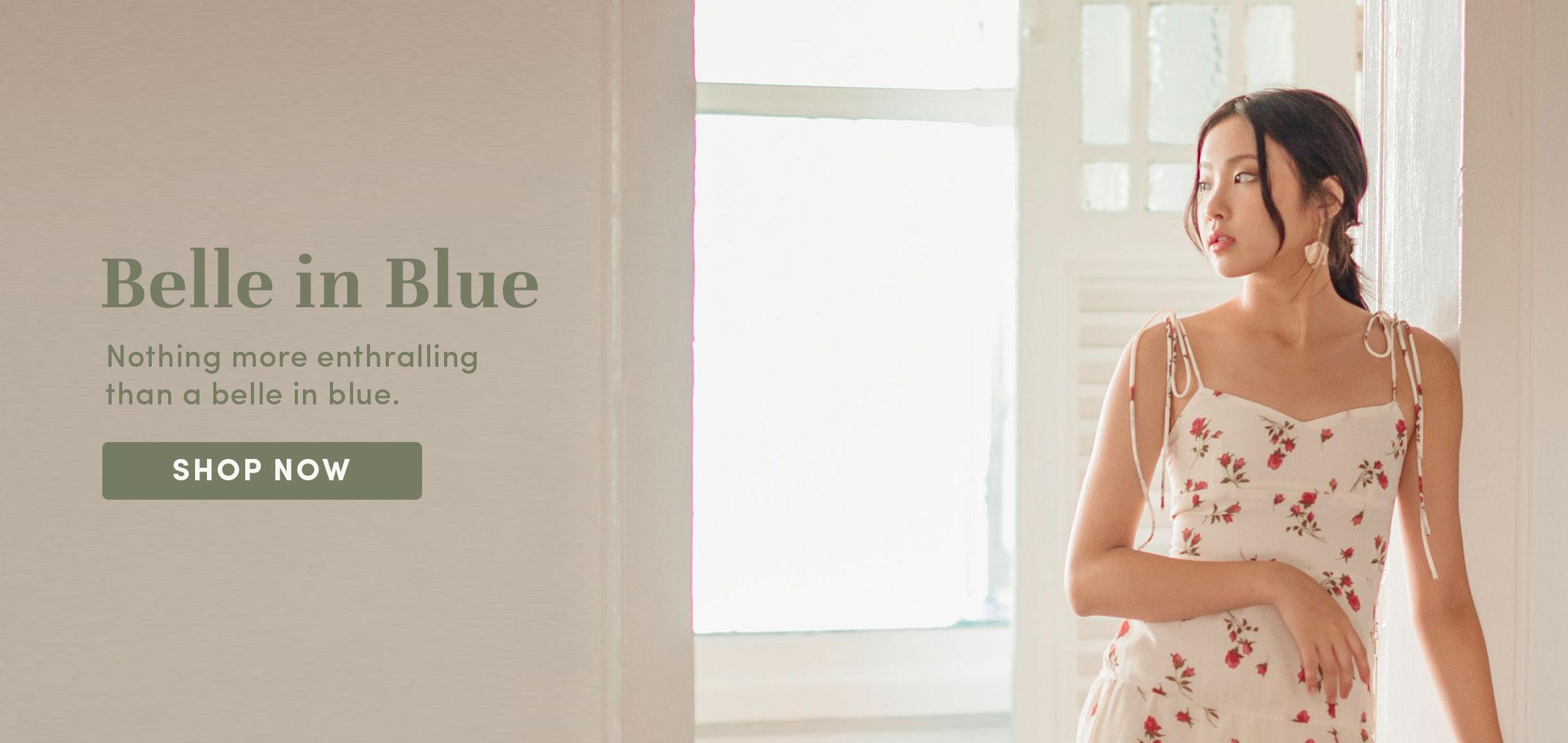 Belle in Blue
