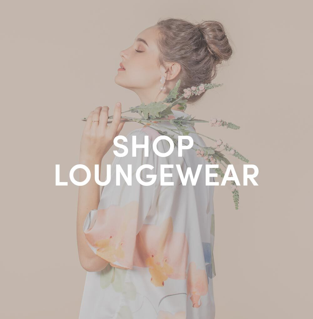 shop loungewear at her velvet vase