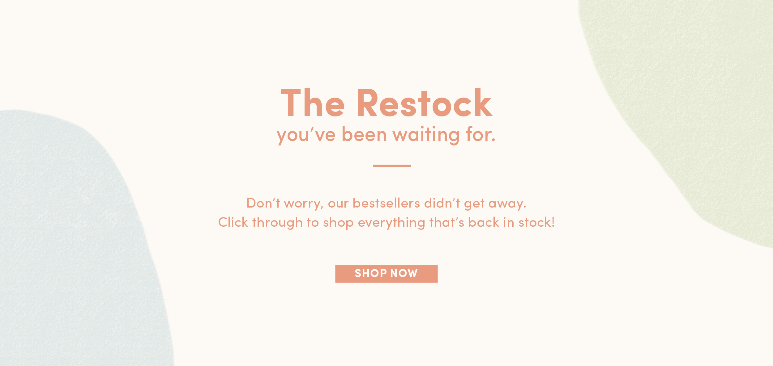 The Restock