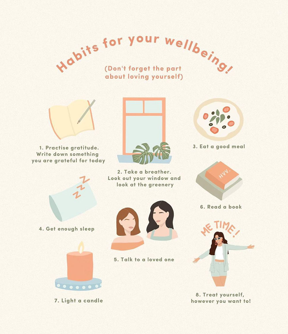 Habits for your wellbeing