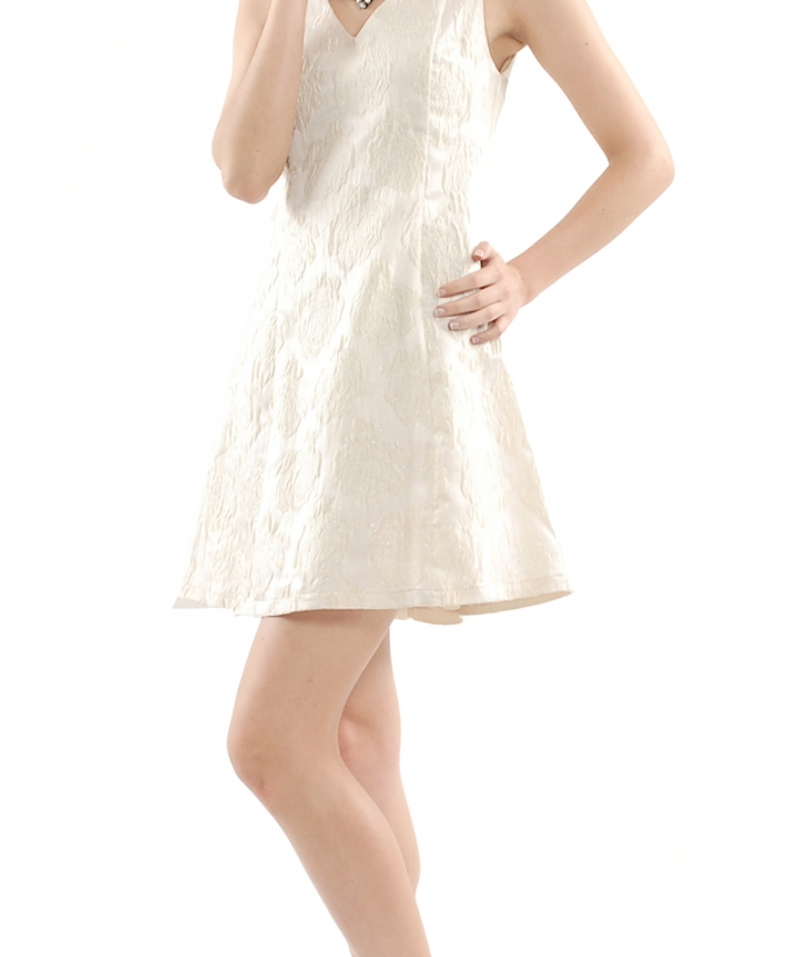 Pavilion Embossed Dress