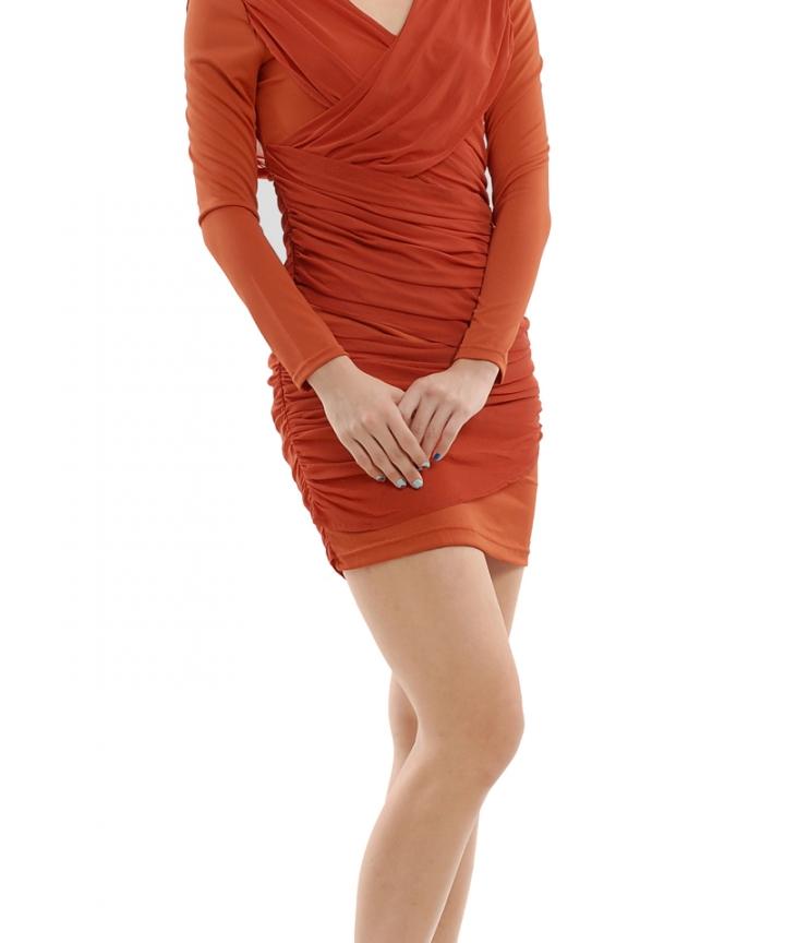 Rio Overlay Wrap Dress
