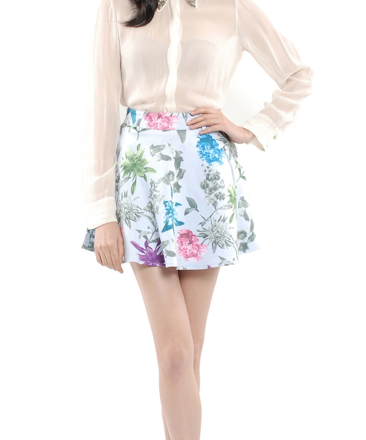 Porcelain Neoprene Skirt