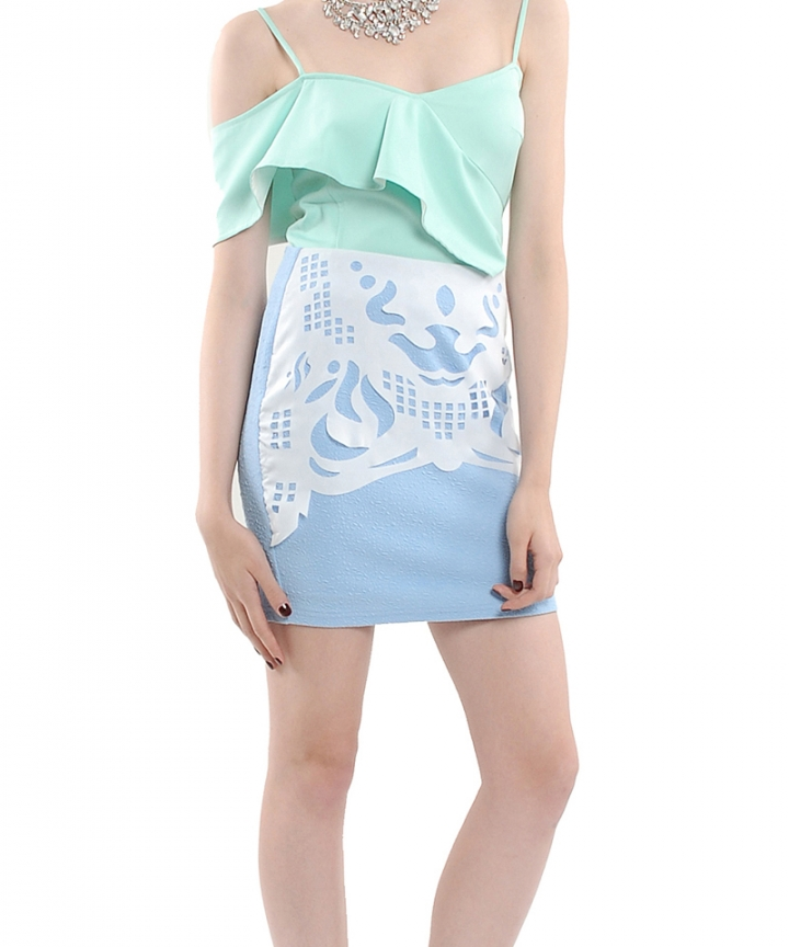 Origami Statement Skirt