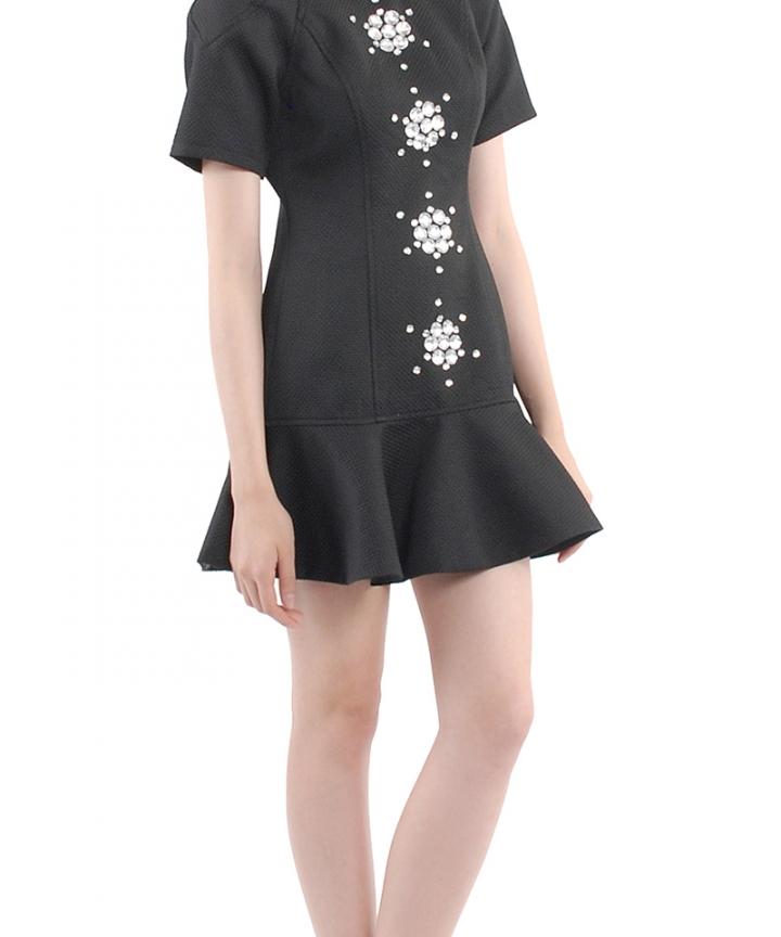 Labyrinth Embellished Dress