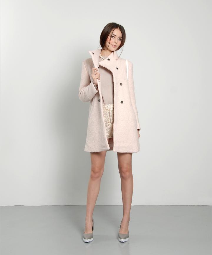 Aurora Classic Wool Coat - Restock