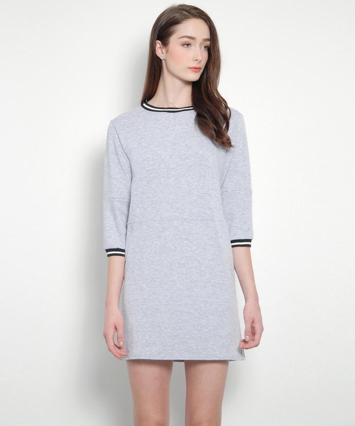Melrose Sweater Mini (Grey)