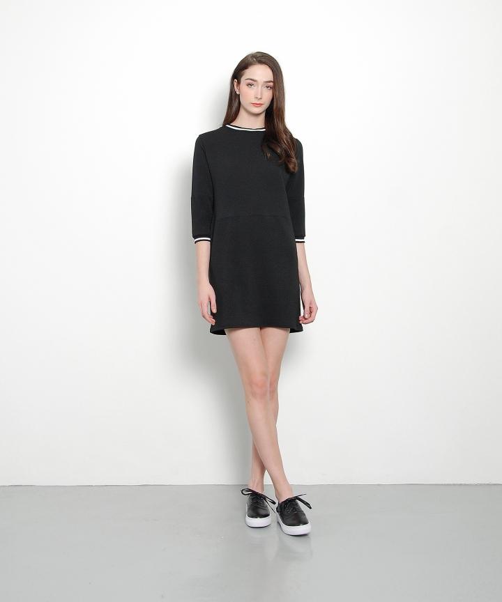 Melrose Sweater Mini (Black)