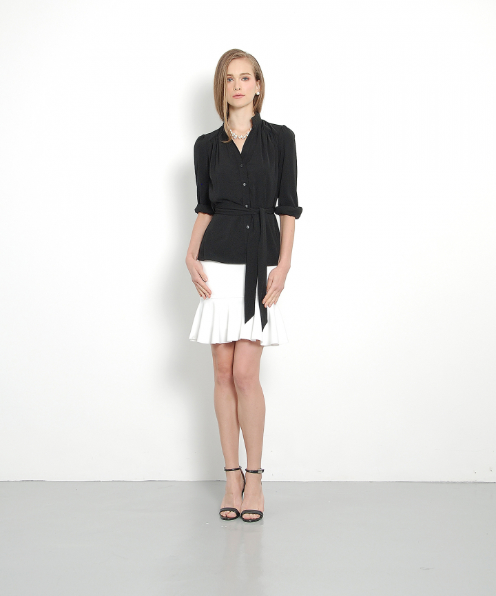 Luxe Blouse (Black)
