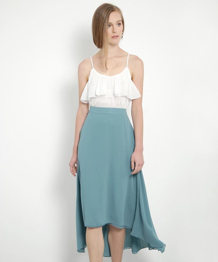 Nightingale Maxi Skirt (Jade)
