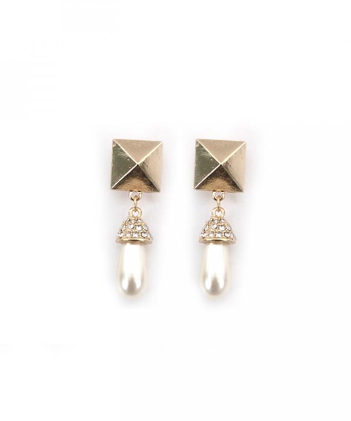 Maya Pearl Drop Earrings - Restock