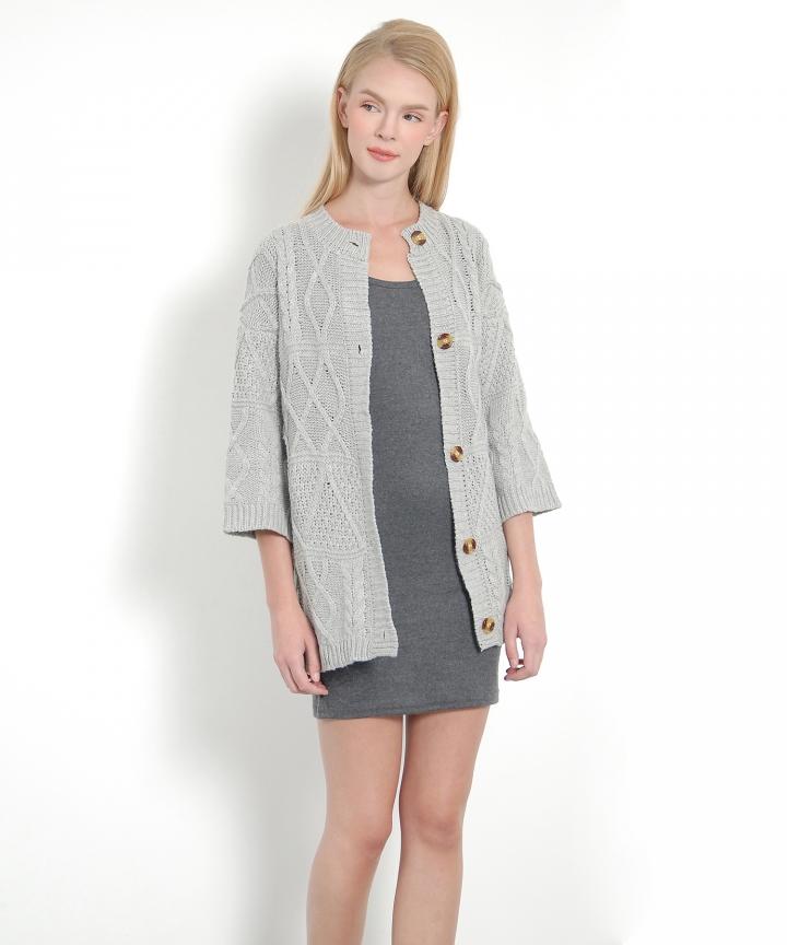 Ingrid Basic Tank Dress - Dark Grey