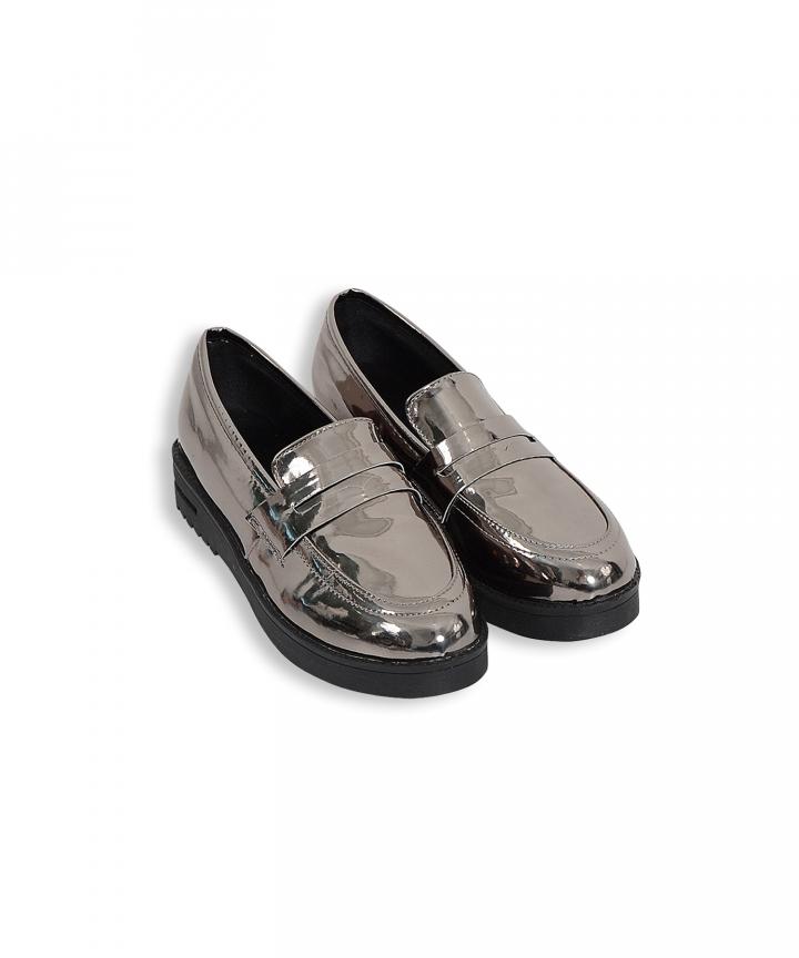 Dijon Metallic Loafers