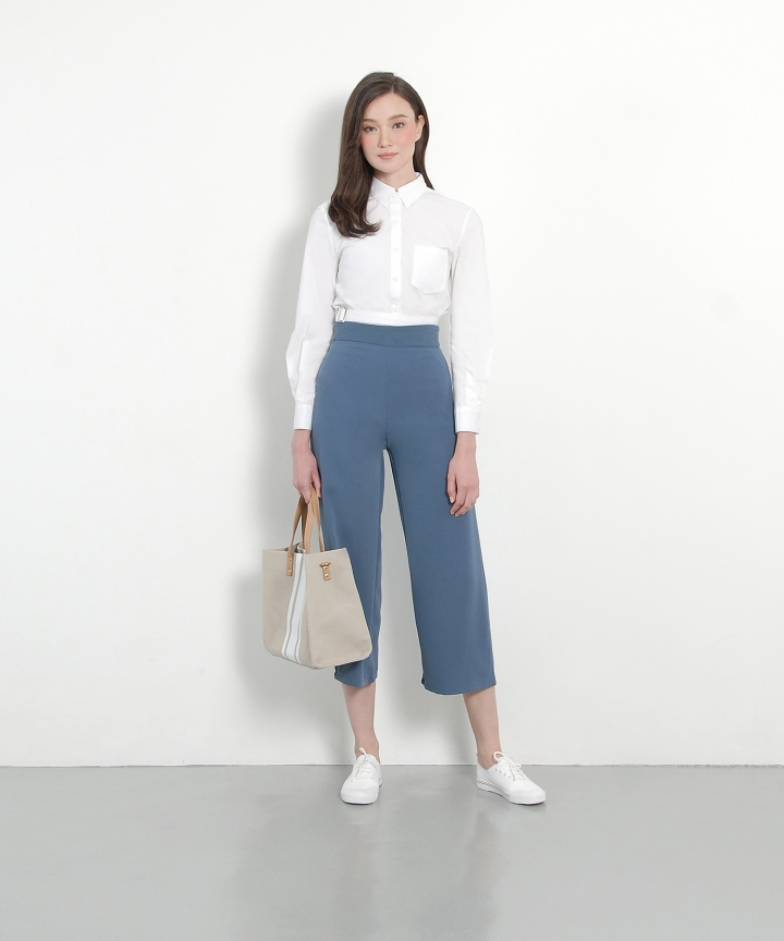 Ginza Culottes - Dust Blue