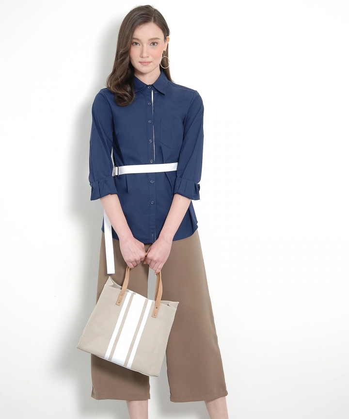 Ginza Culottes - Dust Brown