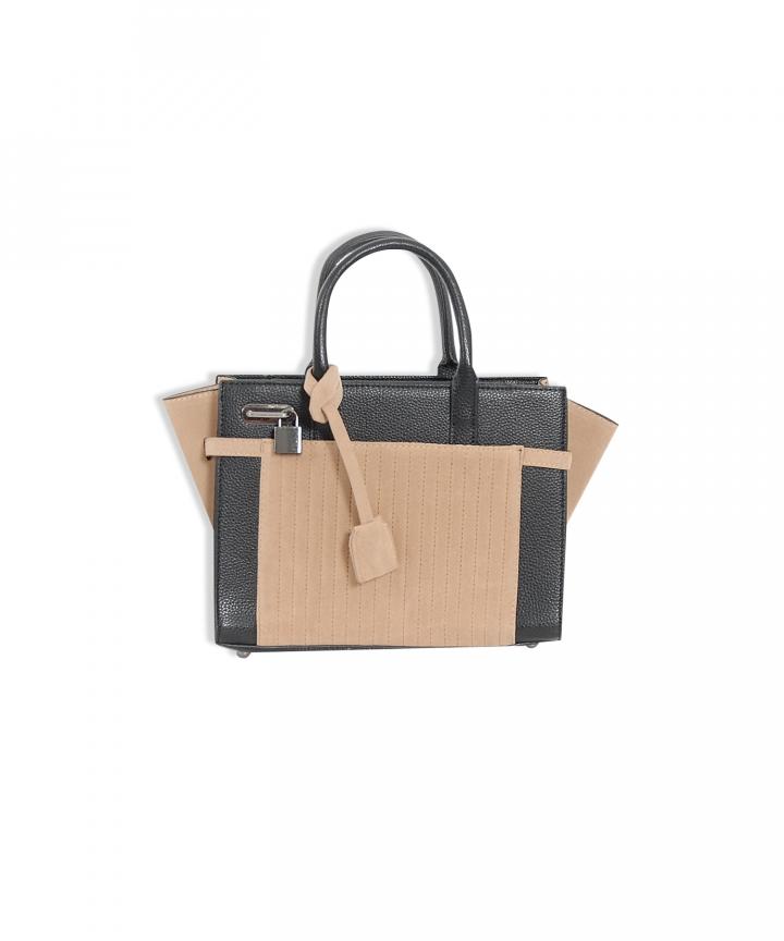 Mahogany Contrast Bag