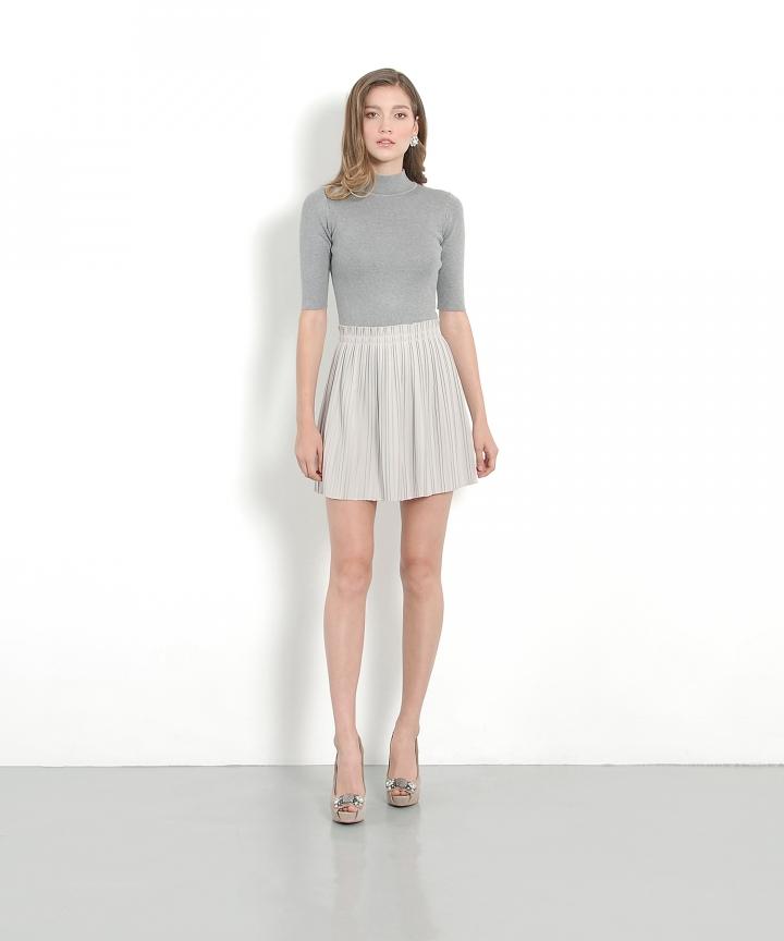 Grazia Pleat Skirt