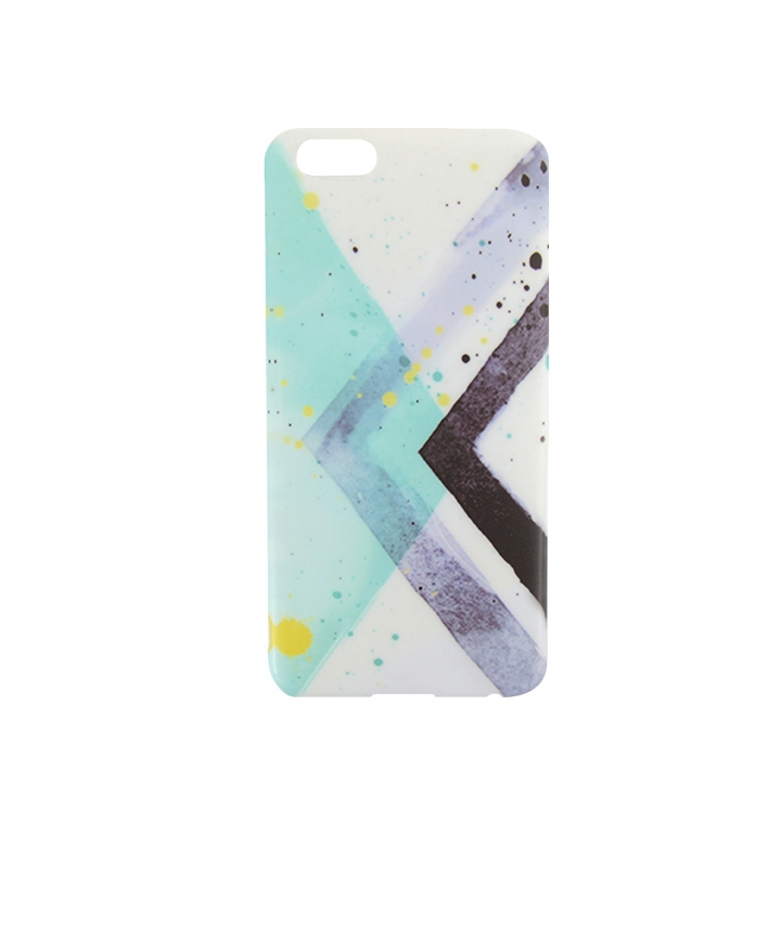 Abstract Blue iPhone Cover
