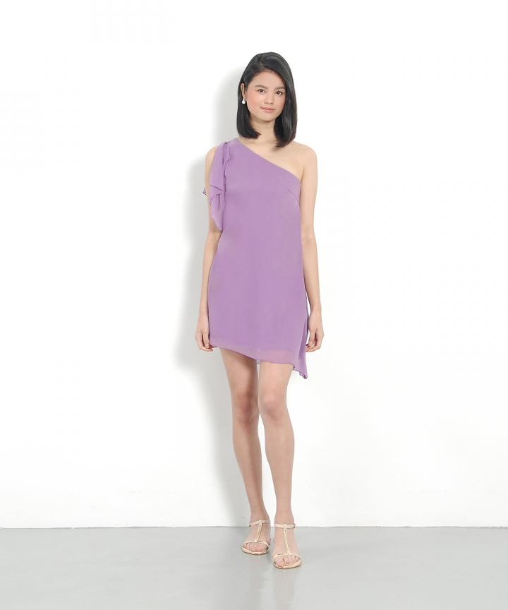 Tinkerbell Toga Dress - Pale Violet