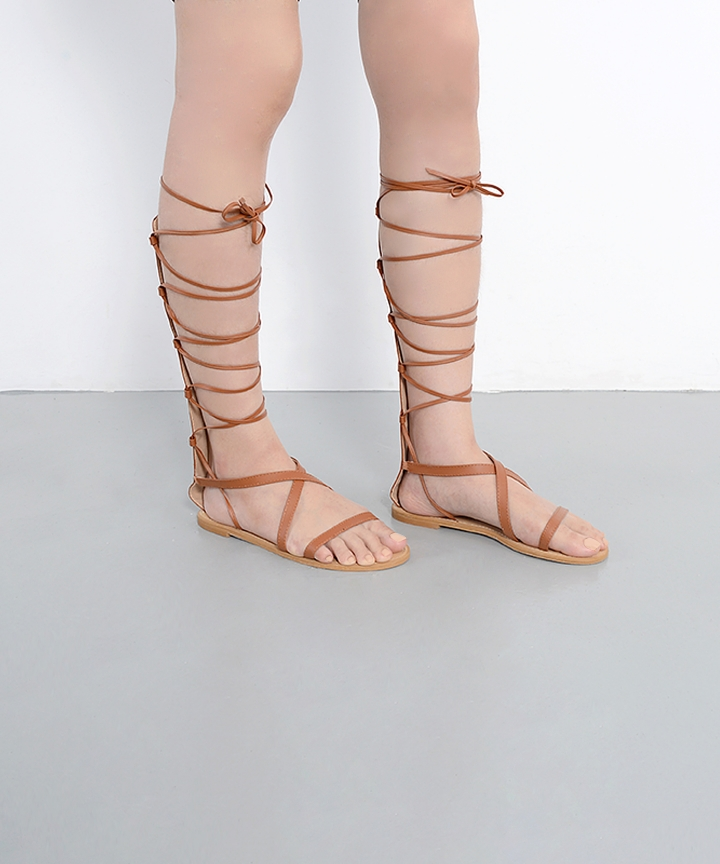 Gladius Lace Up Sandals