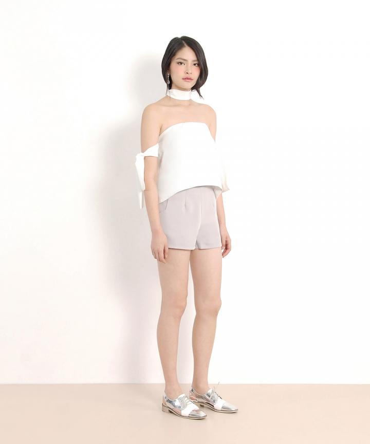 Ginza Shorts - Grey