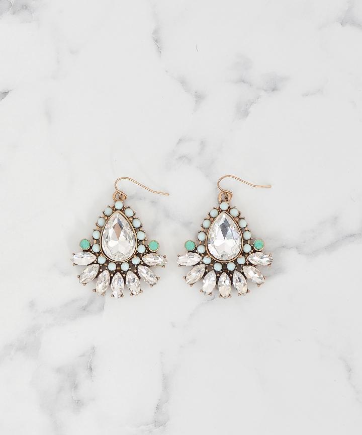 Optic Embellished Earrings