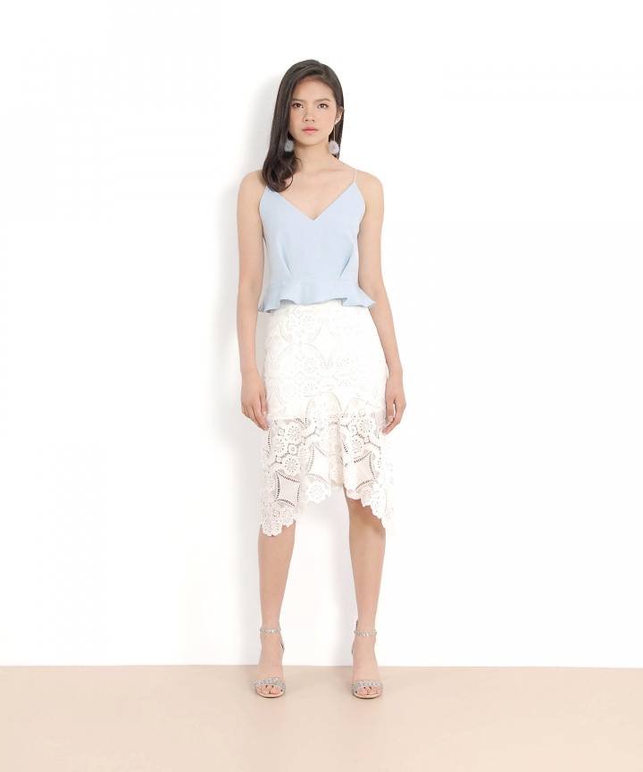 Marmalade Mermaid Skirt - White