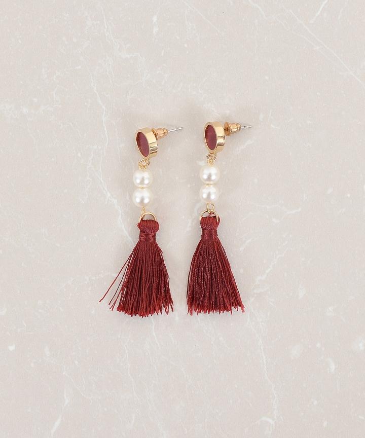 Capella Tassel Earrings