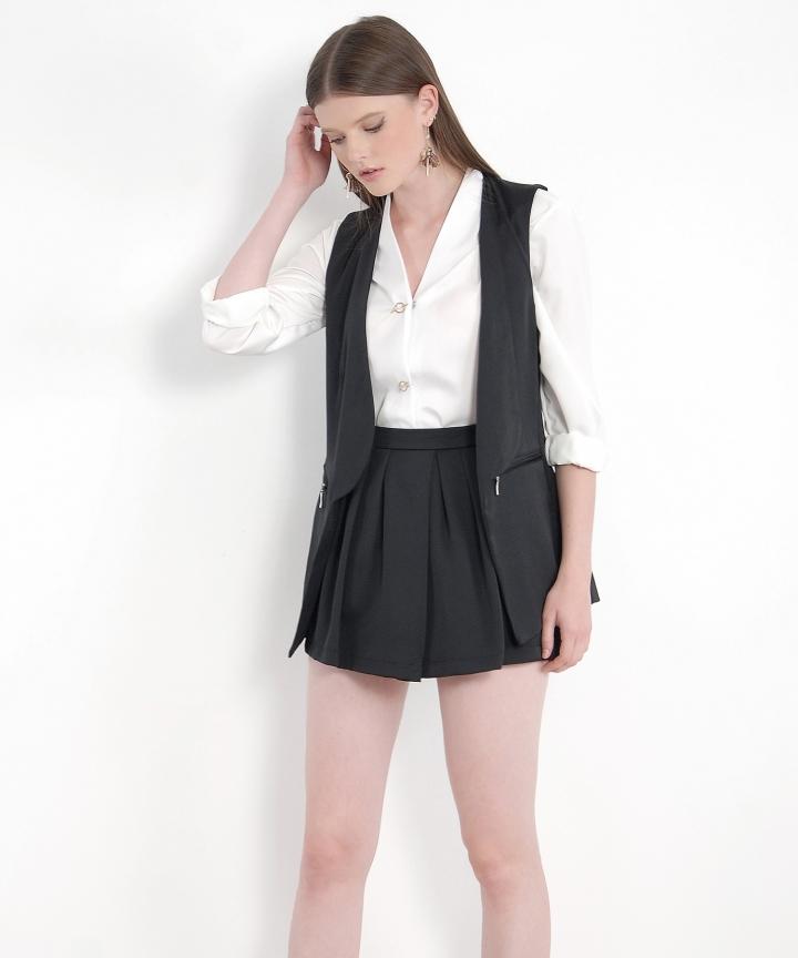 Sawyer Vest - Black