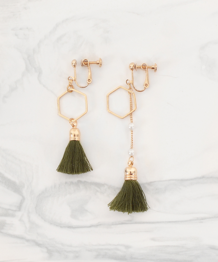 Calla Tassel Earrings (Restock)