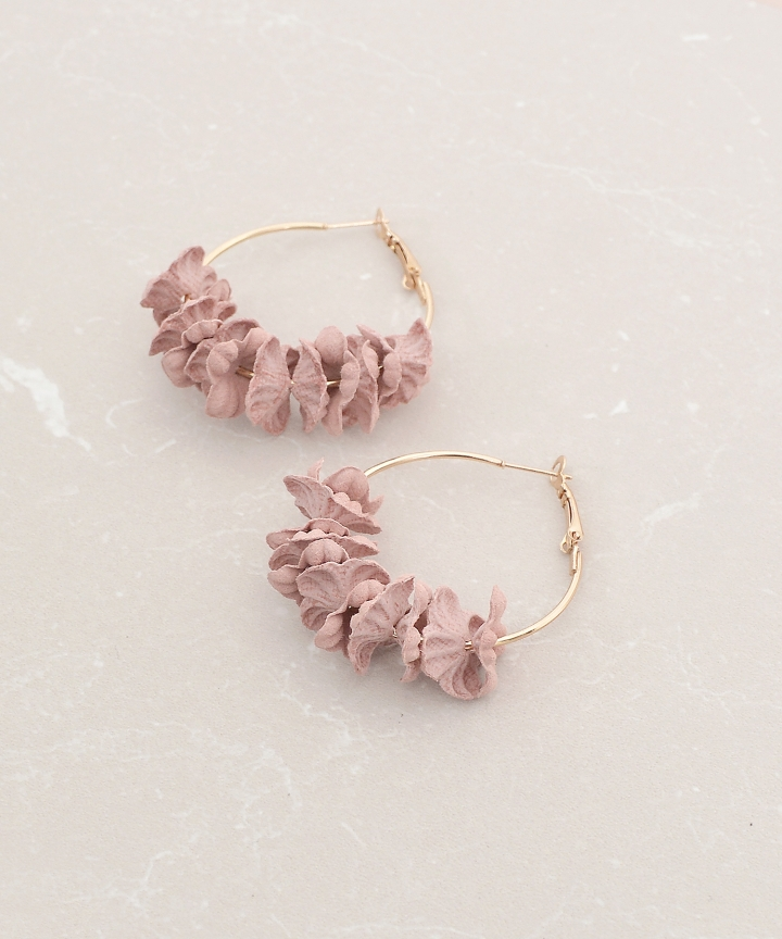 Laurel Floral Earrings (Restock)