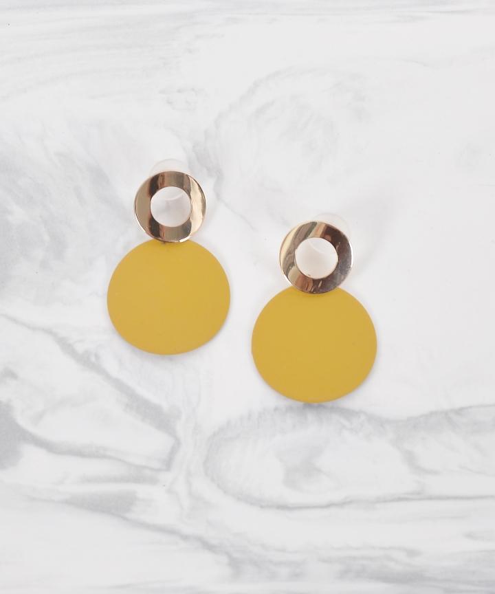 Marlene Circle Earrings
