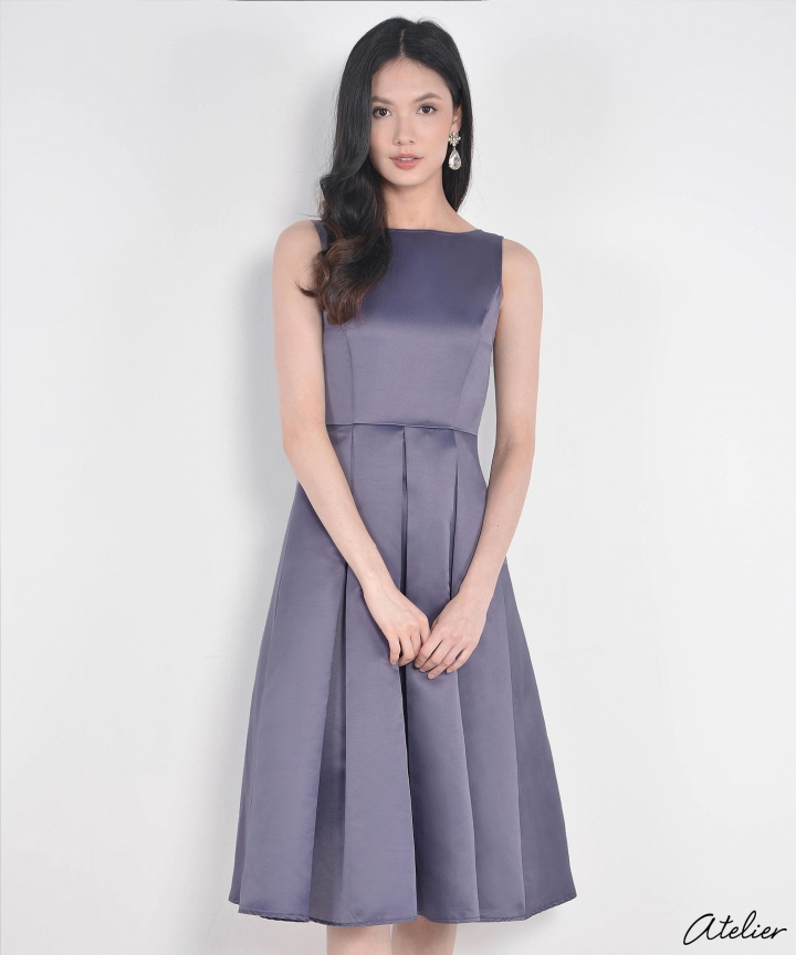 HVV Atelier Aurora Dress - Wisteria