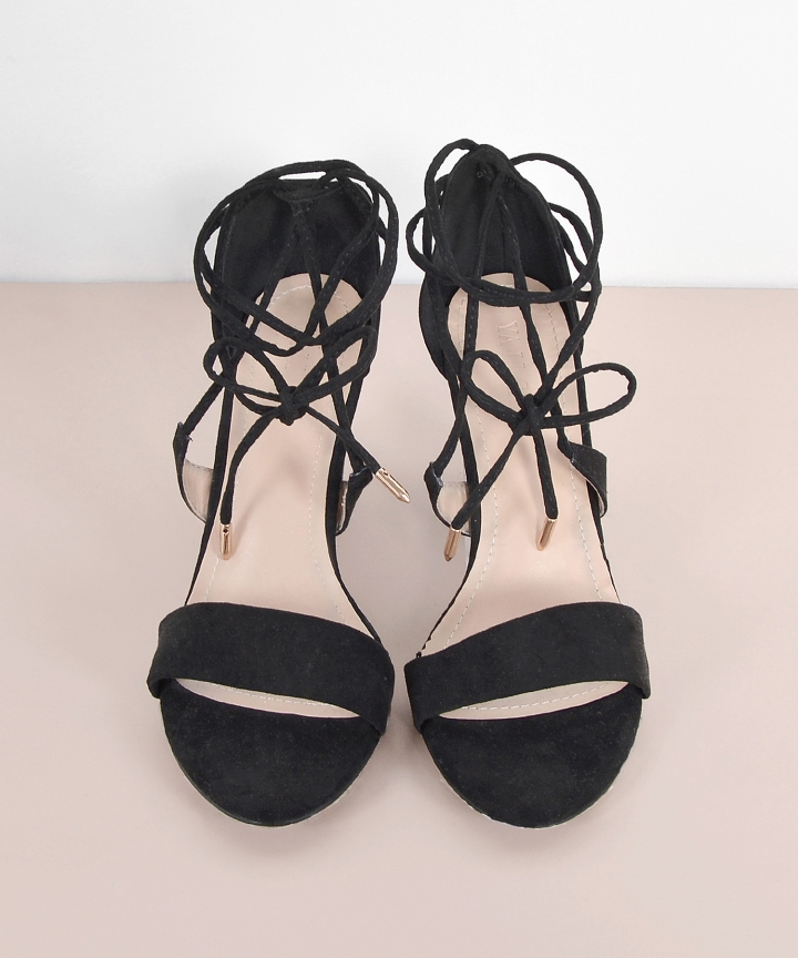 Yuri Lace Up Heels