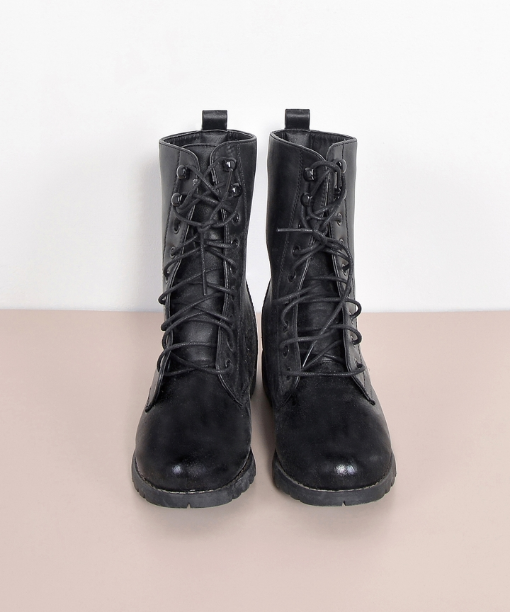 Marshall Lace Up Boots