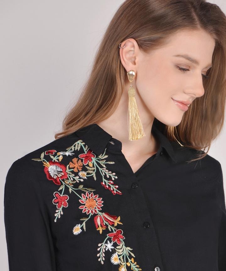 Rian Tassel Earrings