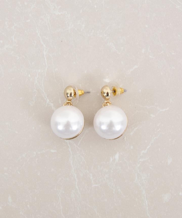 Pearl Orb Earrings (Restock)