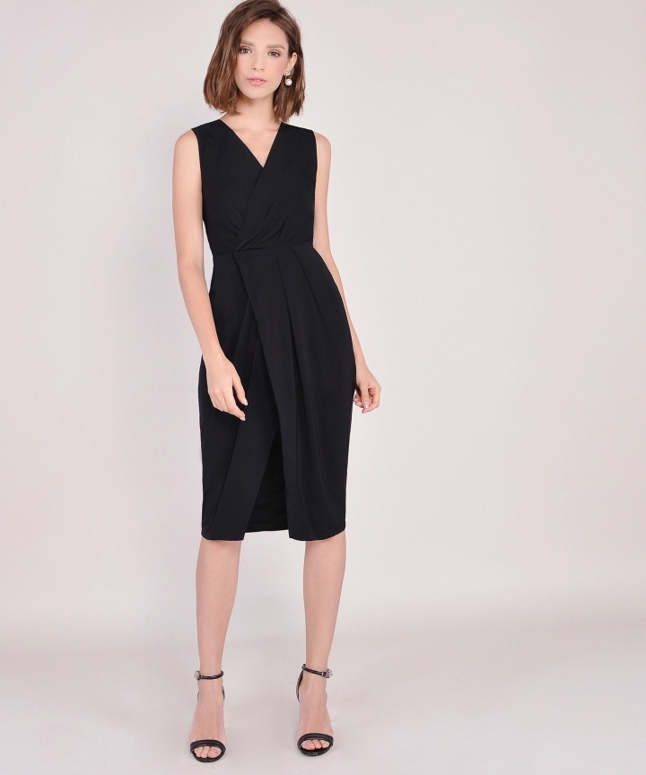Suzanne Corporate Midi - Black