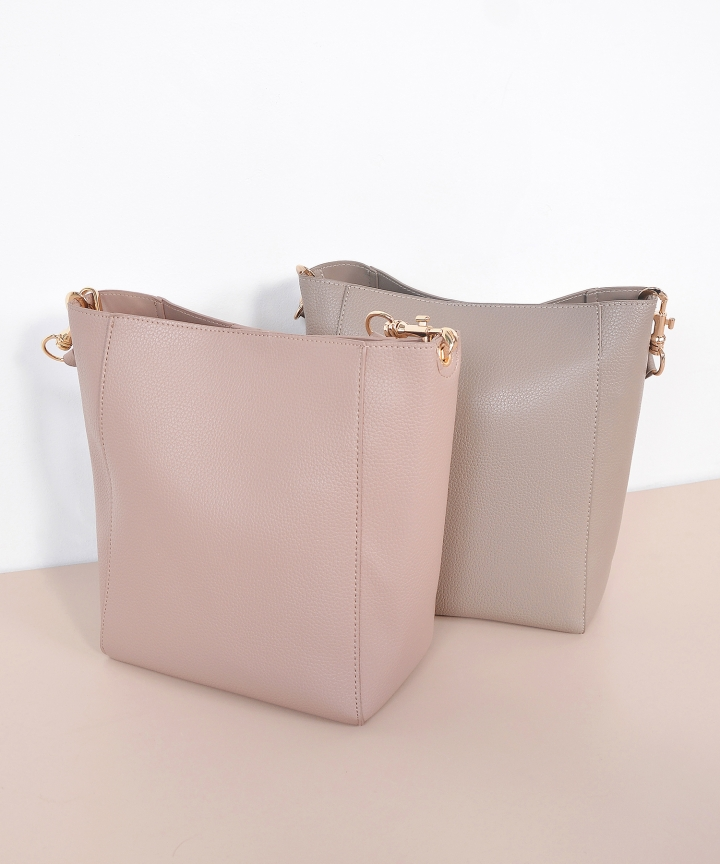 Loraine Bucket Bag - Taupe (Restock)