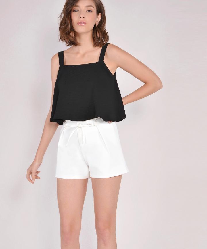 Freida Flare Top - Black