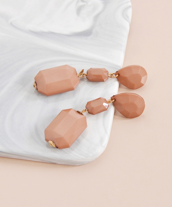 Caramel Drop Earrings