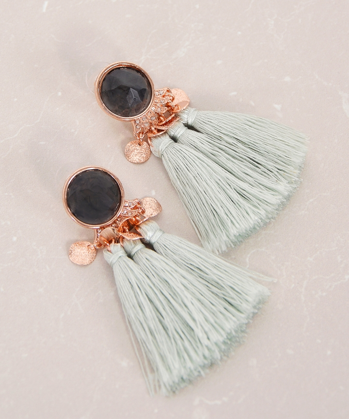 Oracle Tassel Earrings