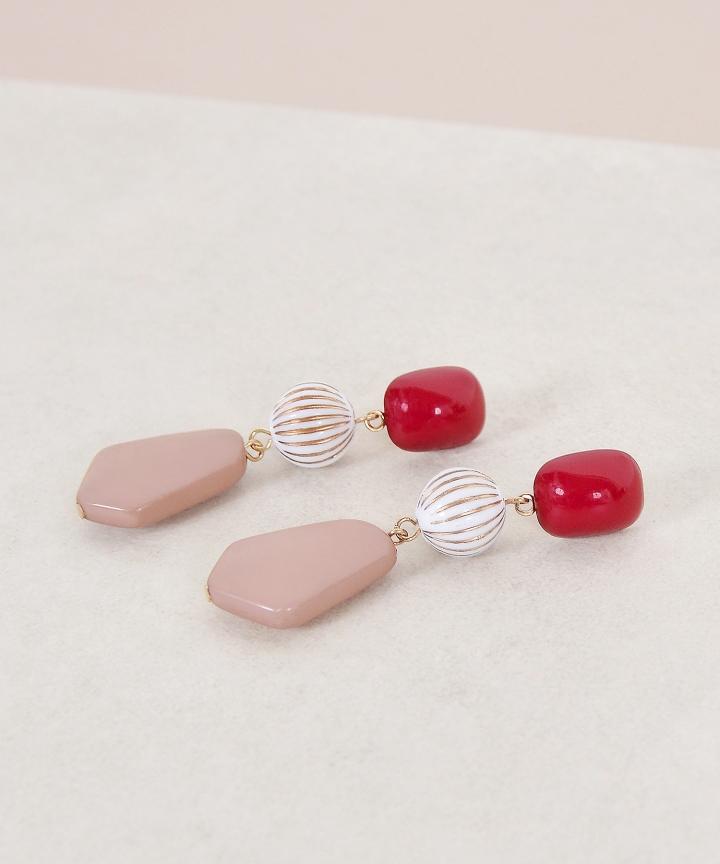 Mabel Tiered Earrings
