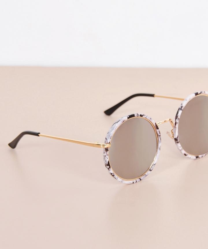 Leandra Marble Sunglasses